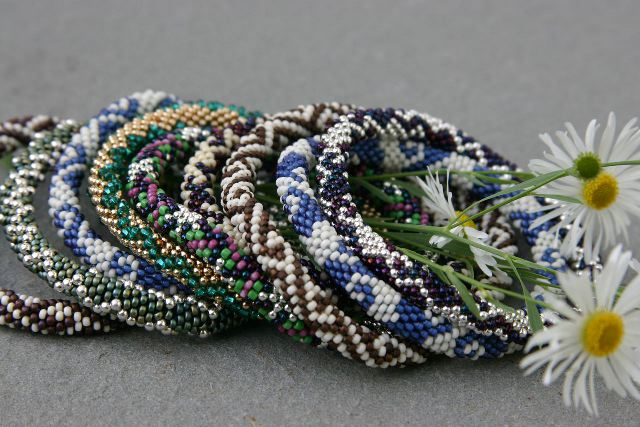 Bead Crochet : Bead Crochet Rope Instructions